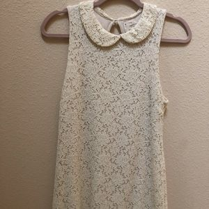 UO Cream Lace Dress
